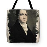 Young Faces From The Past Series By Adam Asar, No 53 Tote Bag