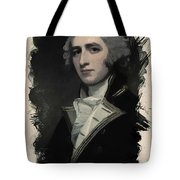 Young Faces From The Past Series By Adam Asar, No 55 Tote Bag