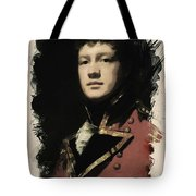Young Faces From The Past Series By Adam Asar, No 56 Tote Bag