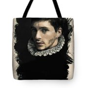 Young Faces From The Past Series By Adam Asar, No 59 Tote Bag