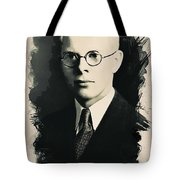 Young Faces From The Past Series By Adam Asar, No 6 Tote Bag