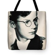 Young Faces From The Past Series By Adam Asar, No 60 Tote Bag