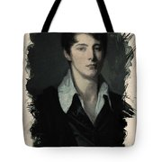 Young Faces From The Past Series By Adam Asar, No 62 Tote Bag