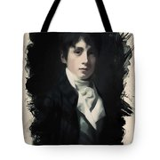 Young Faces From The Past Series By Adam Asar, No 64 Tote Bag