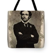 Young Faces From The Past Series By Adam Asar, No 65 Tote Bag