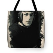 Young Faces From The Past Series By Adam Asar, No 67 Tote Bag
