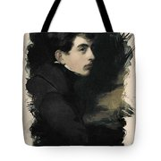 Young Faces From The Past Series By Adam Asar, No 68 Tote Bag