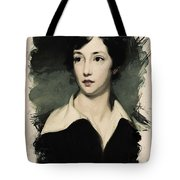 Young Faces From The Past Series By Adam Asar, No 7 Tote Bag