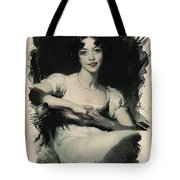 Young Faces From The Past Series By Adam Asar, No 70 Tote Bag