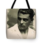 Young Faces From The Past Series By Adam Asar, No 73 Tote Bag