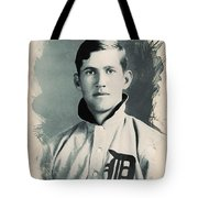 Young Faces From The Past Series By Adam Asar, No 78 Tote Bag