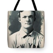Young Faces From The Past Series By Adam Asar, No 79 Tote Bag