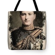 Young Faces From The Past Series By Adam Asar, No 8 Tote Bag