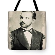 Young Faces From The Past Series By Adam Asar, No 84 Tote Bag