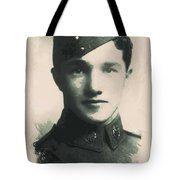 Young Faces From The Past Series By Adam Asar, No 88 Tote Bag