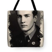 Young Faces From The Past Series By Adam Asar, No 89 Tote Bag