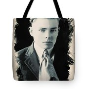 Young Faces From The Past Series By Adam Asar, No 90 Tote Bag
