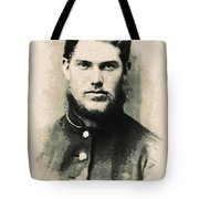 Young Faces From The Past Series By Adam Asar, No 91 Tote Bag