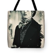 Young Faces From The Past Series By Adam Asar, No 93 Tote Bag
