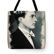 Young Faces From The Past Series By Adam Asar, No 95 Tote Bag
