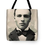 Young Faces From The Past Series By Adam Asar, No 96 Tote Bag