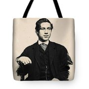 Young Faces From The Past Series By Adam Asar, No 97 Tote Bag