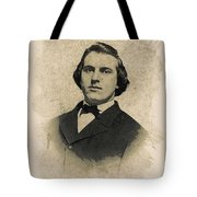 Young Faces From The Past Series By Adam Asar, No 99 Tote Bag