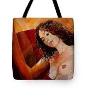 Young Girl  5641 Tote Bag