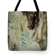 Young Girl  64 Tote Bag