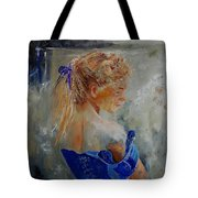 Young Girl  78 Tote Bag