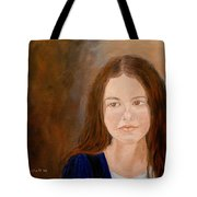 Young Girl Approaching Womanhood Tote Bag