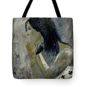 Young Girl Eg569090 Tote Bag