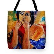 Young Girl Eg9011 Tote Bag