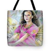 Young Girl From Tahiti Tote Bag