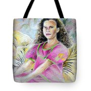 Young Girl From Tahiti Tote Bag