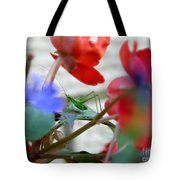 Young Grasshopper Tote Bag