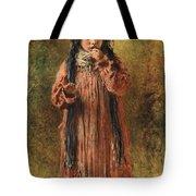 Young Gypsy By Konstantin Makovsky Tote Bag