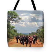 Young Herders, Zambia Tote Bag