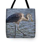 Young Heron Tote Bag