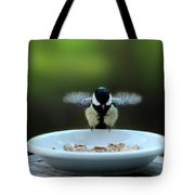 Young Hungry Tit Tote Bag