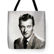 Young John Wayne, Hollywood Legend Tote Bag