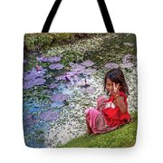 Young Khmer Girl - Cambodia Tote Bag