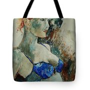 Young Lady 56 Tote Bag