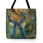 Young Lady 5698 Tote Bag