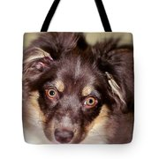 Young Lady Tote Bag