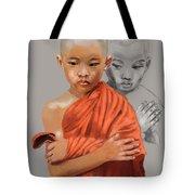 Young Lama Tote Bag