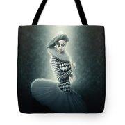 Young Lunar Pierrette Tote Bag