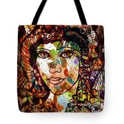 Young Maiden Tote Bag