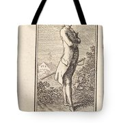 Young Man Bareheaded, With Sword Tote Bag
