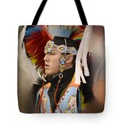 Pow Wow Young Man Tote Bag